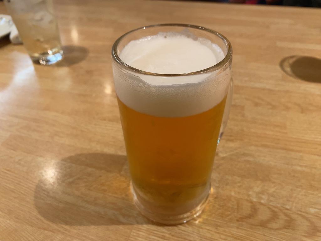 生ビール モルツ 500円