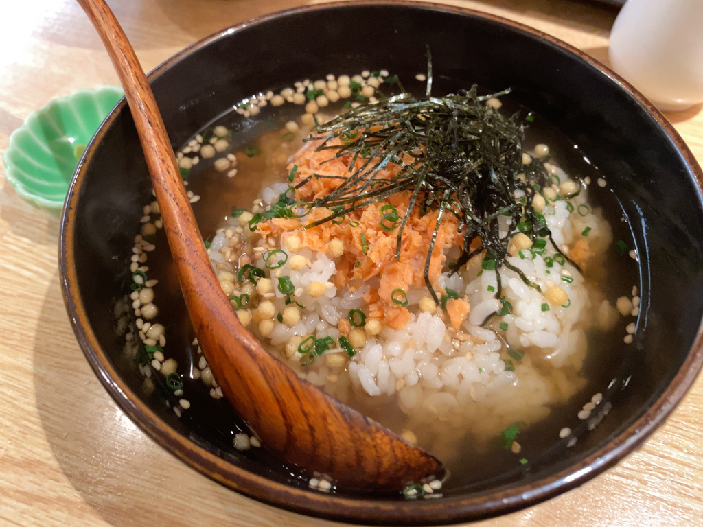 お茶漬け(鮭) 500円
