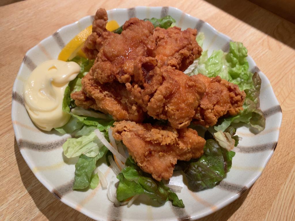 鶏から揚 600円