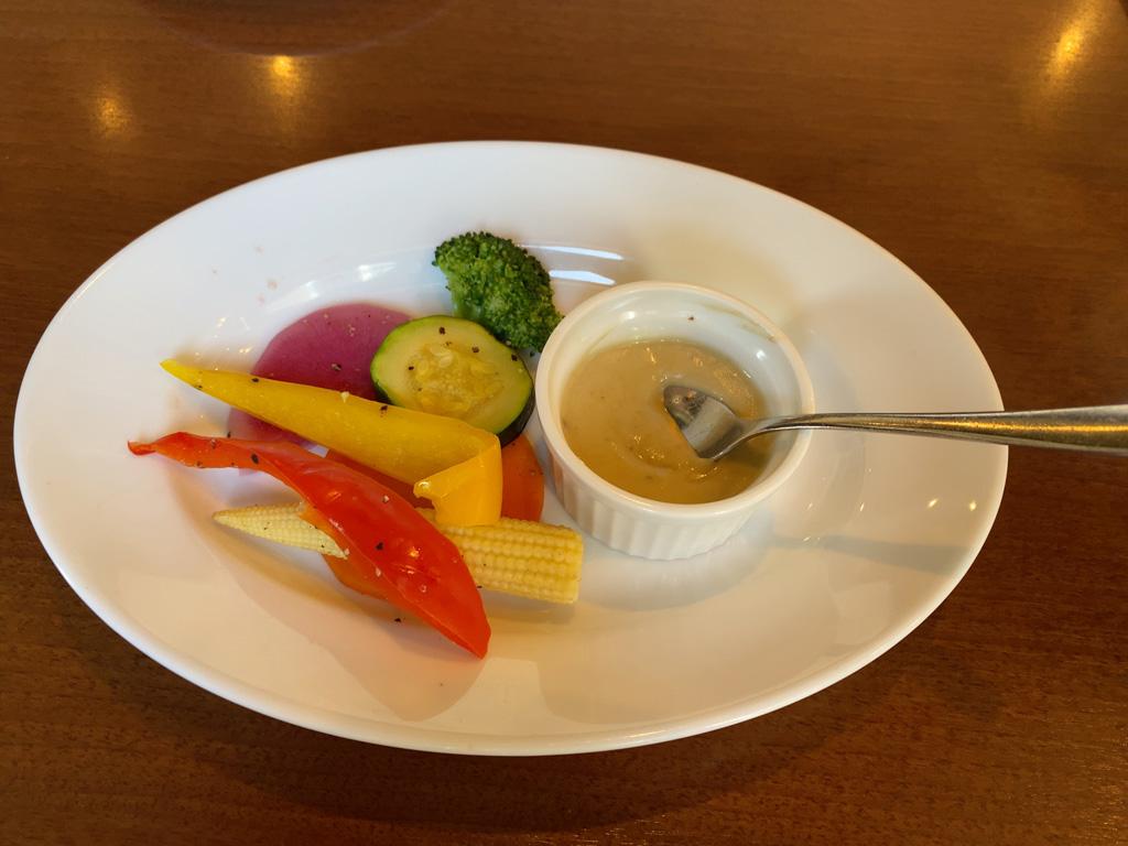 7種の温野菜バーニャカウダー