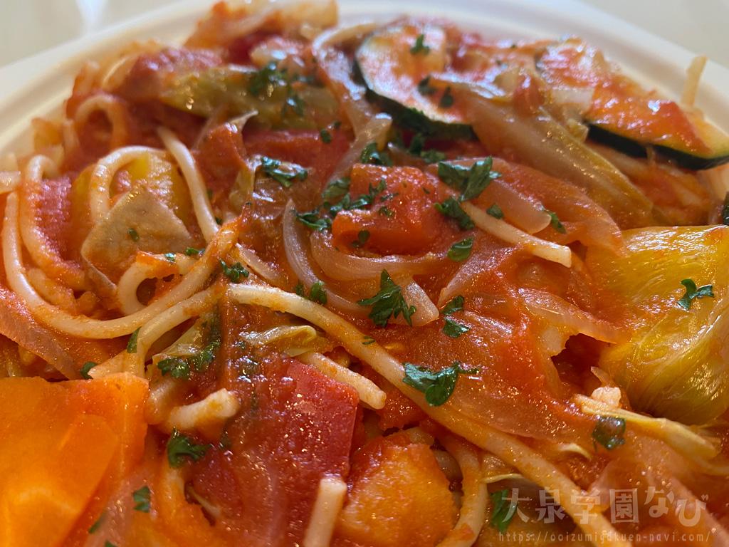 練馬野菜の菜園風スパゲッティ