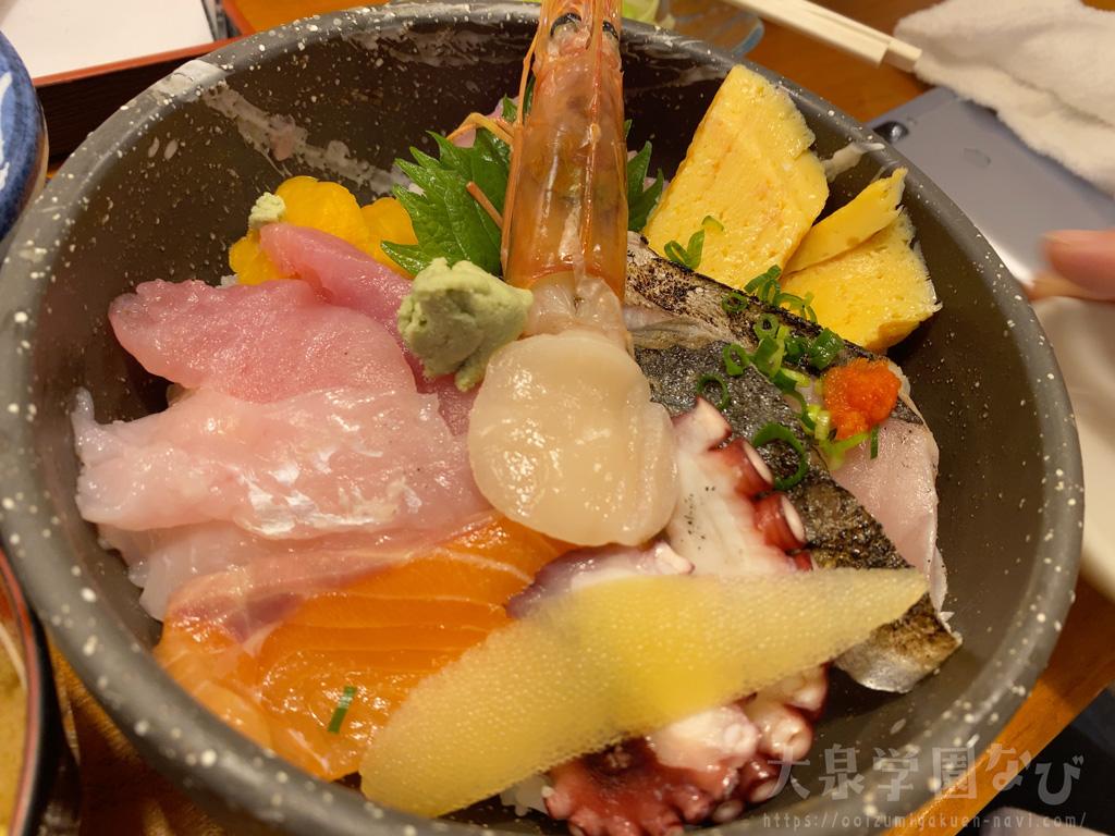 まる辰 ランチの海鮮丼