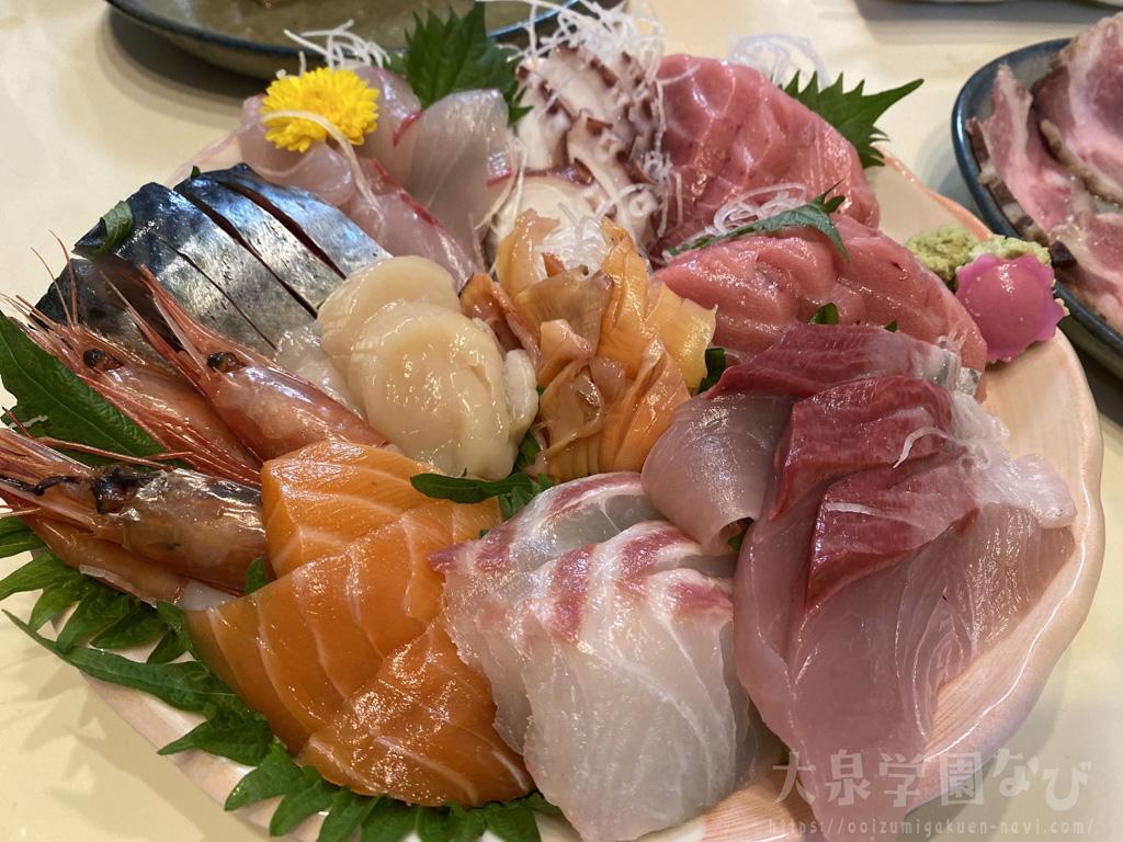 石神井公園の居酒屋とおるちゃんのテイクアウト+魚隆のお刺身の競演