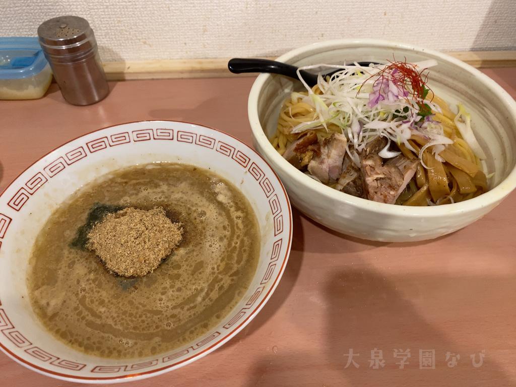 大泉学園 らぁ麺 亀我楽 つけ麺