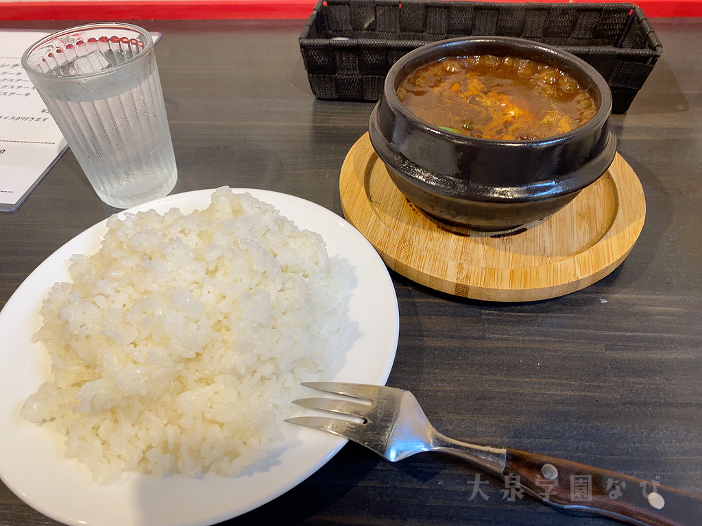 キッチンカウカウハウス 大泉学園  牛すじシチュー